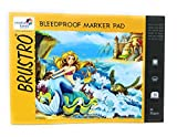 #1: Brustro Bleedproof Marker Pad 70 GSM A4 ( Contains 50 Sheets )