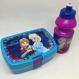 Disney Frozen Trinkflasche & Brotdose für die Schule