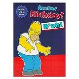 Hallmark Geburtstagskarte für Sie Humor The Simpsons, faltbar, Größe M