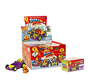 SuperZings- Rivals of Kaboom Caja de Figuras (Magic Box INT Toys SZ1P0302)