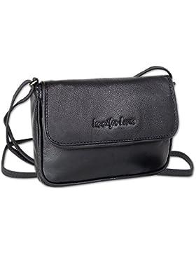 Jennifer Jones Taschen Damen 100% Leder Damentasche Handtasche Schultertasche Umhängetasche Tasche klein Crossbody...
