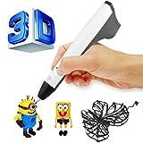 ACTOPP 3D Stift Neue Version 3D Druckstift Pen Drucker Stift Keine Verstopfung für 3D Zeichnungen Erstellung von Stereoscopic Printing Zeichnungen von Hand Geschenk Spielzeug