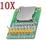SPA 10Pcs 3.5V / 5V Micro Sd Card Module Tf Card Reader Sdio/SPI Interface Mini Tf C