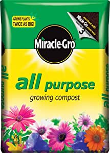 Scotts Miracle-Gro All Purpose Enriched Compost Bag, 50 L