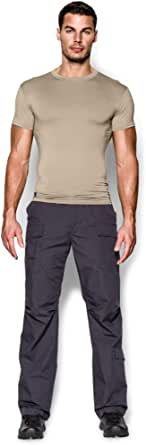 Under Armour Men's HeatGear Tactical Men's HeatGear Tactical T Shirt Short Sleeve T-Shirt - Sand, Extra Extra Large