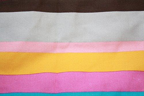 Samanthajane Clothing™ borsa a secchiello estiva per la spiaggia, in tela, da donna 13 Large 13