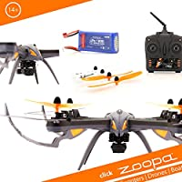 zoopa - Dron ZQ0601 –Acme–Q 600Mantis Movie Quadro–Genial para Exterior, 2,4GHz, luz activable, giros de 360°, 3velocidades
