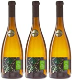 Domaine de la Rochette Touraine Chenonceau Vin Blanc Sec AOC 2015 75 cl - Lot de 3