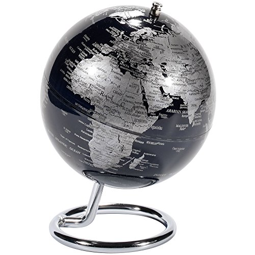 emform Mini-Globus, Galilei Kopernikus, Metall & Kunststoff, 130 x 170 mm