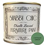 Cottage Green Chalk Based Furniture Paint great for creating a shabby chic style. 125ml