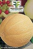 ❦ 90 C.ca Semi Melone Galia - Cucumis Melo In Confezione Originale Prodotto in Italia