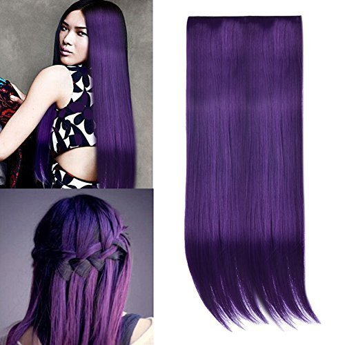 ombre-dip-dye-color-clip-in-hair-extension-55-60cm-length-dark-purple-straight-for-fashion-girls-rub