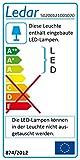 Ledar LED-Wand-/Deckenleuchte - Kamen, Klein