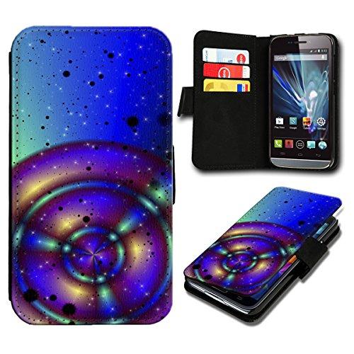 Book Style HTC Desire 310 Premium PU-Leder Tasche Flip Brieftasche Handy Hülle mit Kartenfächer für HTC Desire 310 - Design Flip SV50