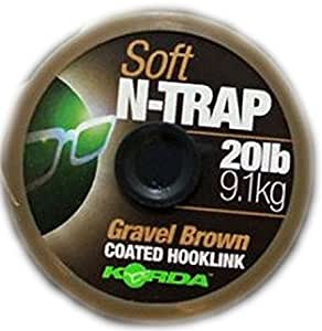 N-Trap Soft 20lb Gravel Brown - KORDA