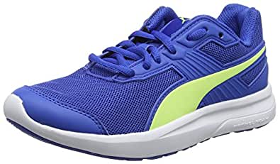 Puma Unisex-Kinder Escaper Mesh Jr Laufschuhe, Blau (Turkish Sea-Fizzy Yellow), 35.5 EU