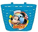 Disney bambini Mickey cestino cestino da bicicletta borsa da bicicletta borsa per manubrio bicicletta