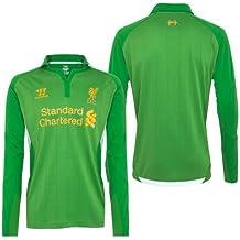 Warrior Liverpool Home Goal Keeper Camiseta 2012 – 2013 Talla:S Adultos