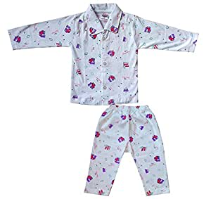 436a1feadd9 ... Cotton Baby Night Suit for 6 to 12 Months Girls