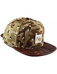 Agora Choc Chip Camouflage désert Serpent Argent tout-en-un Hat