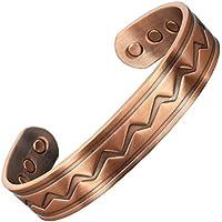 Herren Celtic Armband Chunky Armband magnetisch Heilkräfte Kupfer Armband für Arthritis Schmerzlinderung Karpaltunnelsyndrom... preisvergleich bei billige-tabletten.eu