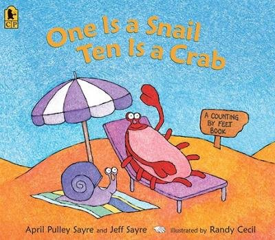 [( One Is a Snail, Ten Is a Crab: A Counting by Feet Book By Pulley Sayre, April ( Author ) Paperback Mar - 2010)] Paperback