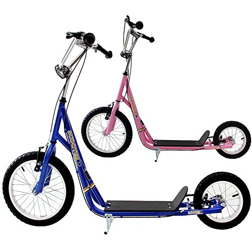 Trottinette Grande Roue B Quille Design Sport Scooter 2 Roues