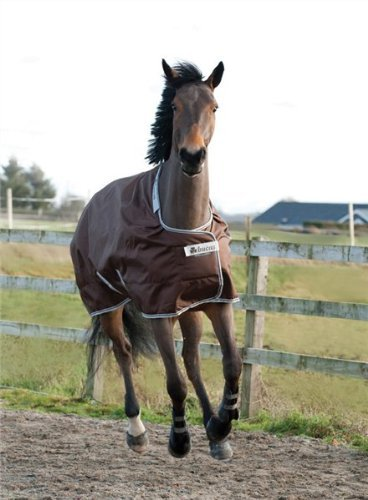 BUCAS Outdoor Pferdedecke SMARTEX RAIN, schokolade, 135