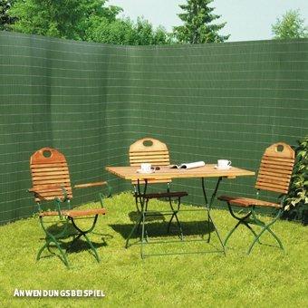 Videx-Sichtschutzmatte Rügen, Kunststoff grün, 160 x 1000cm