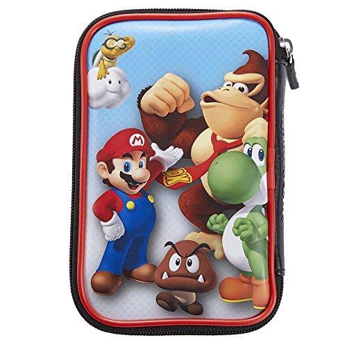 Offizielle Nintendo New 3DS XL / 3DS XL – Tasche / Hülle | 4 Motive zur Auswahl | Schützt den Nintendo 3DS ; Motiv: Mario und Donkey Kong