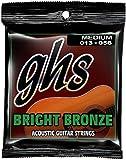 GHS BB40M 13-56 m Bright-Set corde per chitarra acustica, colore: bronzo