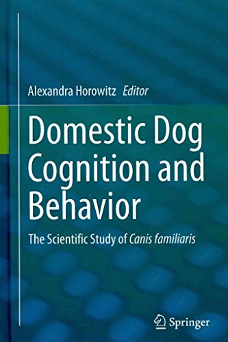 Portada del libro [(Domestic Dog Cognition and Behavior : The Scientific Study of Canis familiaris)] [Edited by Alexandra Horowitz] published on (March, 2014)