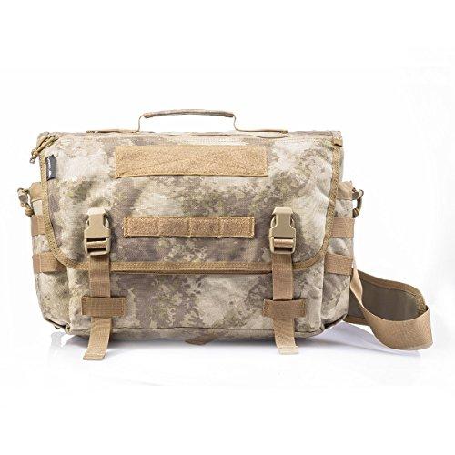 YAKEDA Messenger Bag tattico tattico sbalzo Messenger Style Bag 8.5L-BKF-040 Camuffamento del deserto
