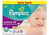 Pampers Active Fit Windeln Giga Pack
