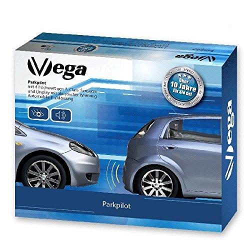 VSG ® VSG Einparkhilfe Kombi-Set für vorne&hinten mit Farb-Display und eingebauten Pieper in schwarz
