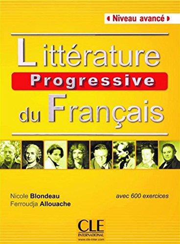 Pdf Litterature Progressive Du Francais Livre Avance B2 C1
