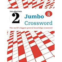 The Times 2 Jumbo Crossword Book 8 by The Times Mind Games (2013-09-01)