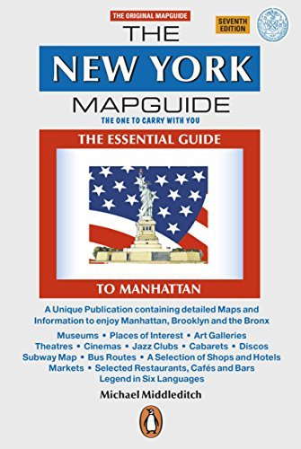 The New York Mapguide by Michael Middleditch - Mapguide York New