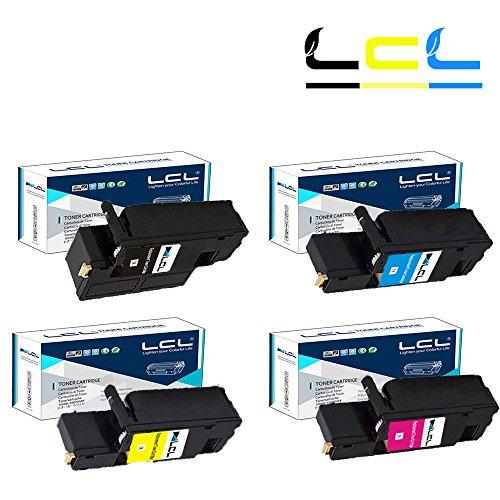 LCL(TM) Phaser 6020 106R02759 106R02756 106R02757 106R02758 (4-Pack Nero Ciano Magenta Giallo) Cartucce di Toner Compatibile con Xerox Phaser 6020 6022, WorkCentre 6025 6027 Series Printers