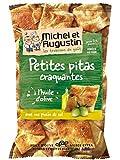 MICHEL ET AUGUSTIN - Petits Pitas Huile d'Olive Pointe Sel 40 g