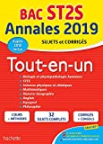 Annales Bac 2019 Tout-En-un Tle ST2S