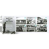 2015 Battle of Britain 75th Anniversary Miniature Sheet No. 110 with Barcode Selvedge - Royal Mail Stamps by Royal Mail