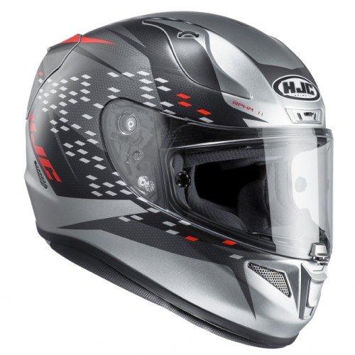 Preisvergleich Produktbild HJC Motorrad-Helm RPHA 11 oraiser mc5sf,  schwarz / rot,  Größe XL