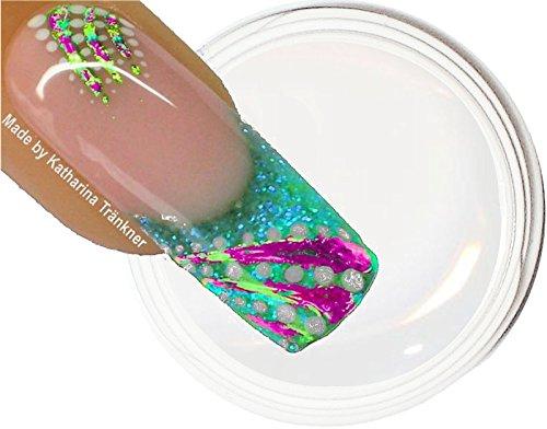 ~ ~ nouveauté ~ ~ Effet Films de gel UV 5 ml : Clear/Transparent... pour le traitement de films de Ticket Nail Art de transfert idéal.