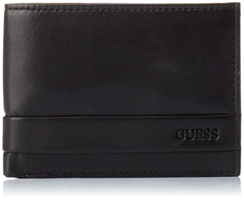 Guess Herren Sm0814lea20 Taschenorganizer, Braun (Marrone), 2.5x9.6x12.2 cm (Brieftasche Guess Braun)