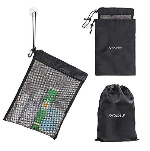 joyoldelf Mesh Netz Dusche Caddy Dusche Organizer Dusche Tasche Quick Dry Wasserdicht für Reisen/Schwimmen/Gym/Wohnheim/Hotel