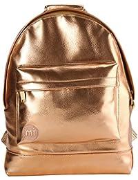 Mi-Pac-  Mochila metálica, talla única, color rosa dorado