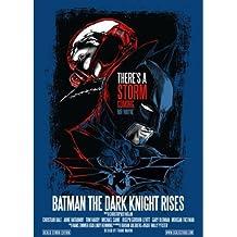 Batman - The Dark Knight Rises - POSTER SERIGRAFIA - VARIANTE BLU