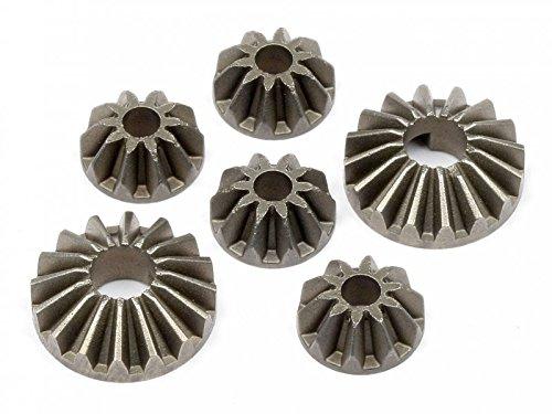 HPI H101298 - Differential-Zahnräder Set Bullet, Fahrzeuge