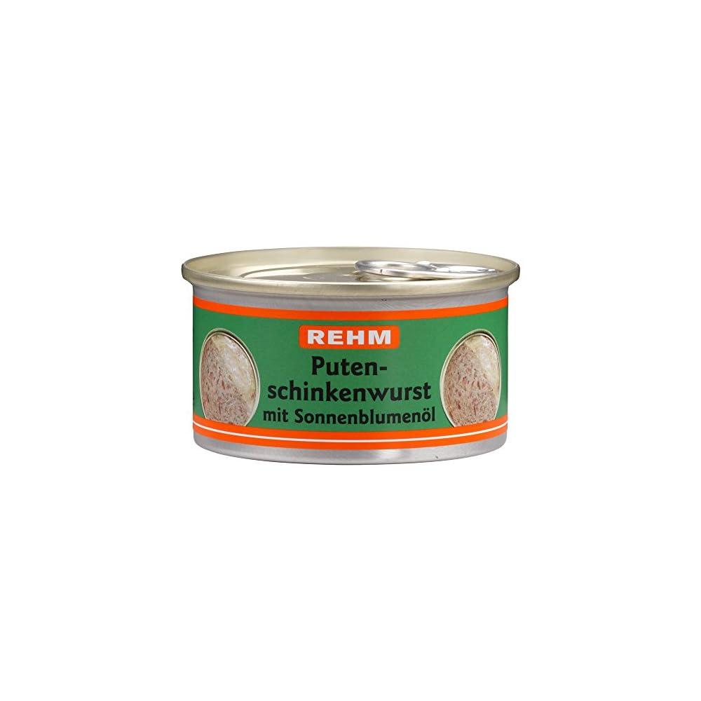 Rehm Putenschinkenwurst Mit Sonnenblumenl 12er Pack 12 X 125 G